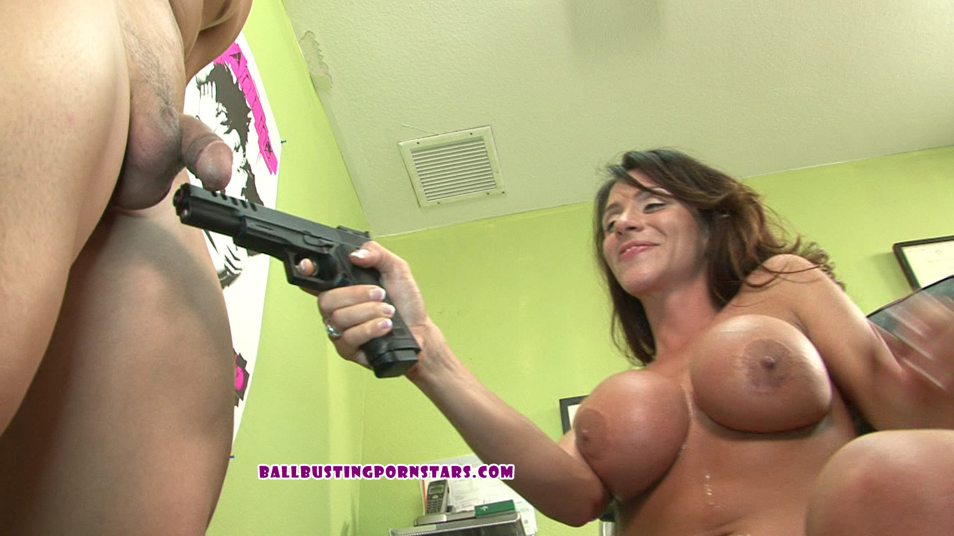 Femdom castration clips movies